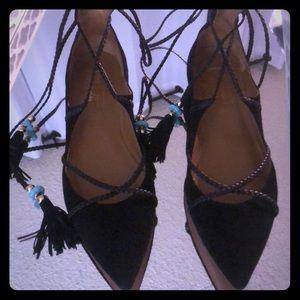 Aquazzura lace ups